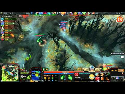 Dota2 | GameTV vs iDeal ACG 8 3 2014