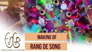 Rang De Song Making - A Aa Movie