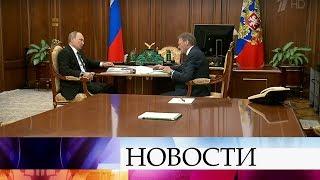 В Кремле прошла встреча Владимира Путина с бизнес-омбудсменом Борисом Титовым.