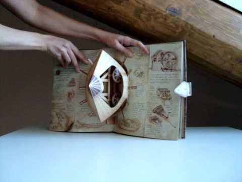 Libro pop-up - Le macchine di Leonardi da Vinci