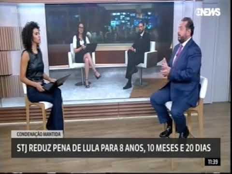 [ Globonews ] Adib Abdouni: diminuição da pena do ex-presidente Lula