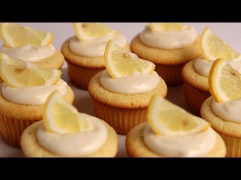 Homemade Lemon Cupcakes Recipe - Laura Vitale - Laura in the Kitchen Episode 368