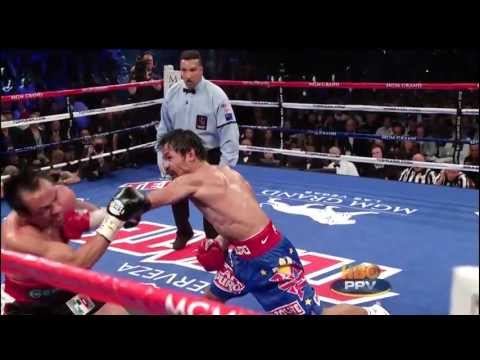 Round 12 highlights - Manny Pacquiao vs Juan Manuel Marquez III