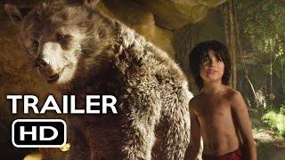 The Jungle Book Official Trailer #2 (2016) Scarlett Johansson Live-Action Disney Movie HD