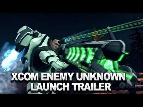 XCOM: Enemy Unknown Release Trailer
