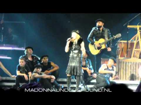 Madonna MDNA Tour speech Amsterdam July 7 2012 Ziggo Dome