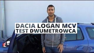 Dacia Logan MCV 1.5 dCi 90 KM - Test Dwumetrowca