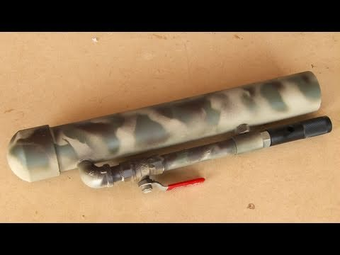 Paintball Rocket Launcher! LAW!