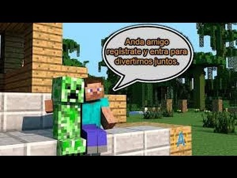 Como registrarse en un Server de Minecraft 1.7.2 no premium ! Minecraft 1.7.2 Register