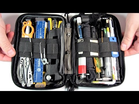Maxpedition Pocket Organizer-  MAXED OUT (pt. 1)/ Survival Kit Tools