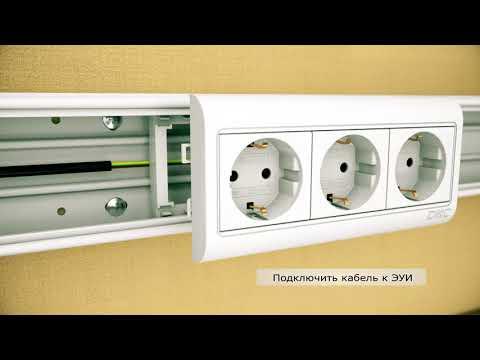 01779 | RQM 200 Рамка для ввода в стену/коробку/потолок