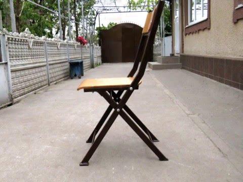 Складные стулья из металла своими руками 72
