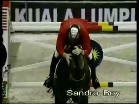 فيديو تمتع بمشاهدة قفز الحواجز مع اجمل الخيول
