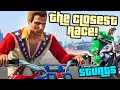 SquiddyPlays - GTA V STUNTS! - THE CLOSEST RACE EVER! #4