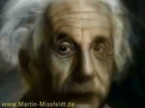 Speed painting Albert EINSTEIN by Martin Missfeldt