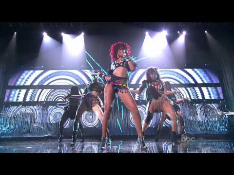 Rihanna - What's My Name   Only Girl (In The World) (American Music Awards 2010) HD 720