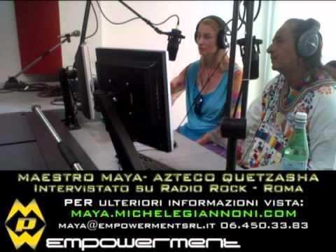 Maestro Maya - Azteco Quetzasha parla della Profezia del 21 dicembre 2012, Sciamano (chi è ?), ecc.