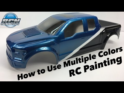 How to Paint your RC Body with Multiple Colors - Pactra Paint Series EP4 - UCSc5QwDdWvPL-j0juK06pQw