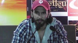 Ranveer Singh promotes his upcoming film 'Ram-leela' in Patna