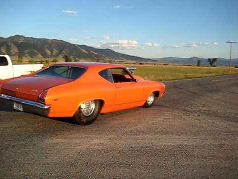 1969 Chevelle Blown 502, NOS, 1000+ hp,  60mph-0-60 mph