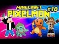 PIXELMON : Ep.10 - L'arène de Pierre - MOD Pokemon Minecraft [FR] [HD]