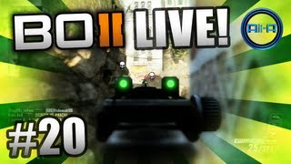 """""""SCREW THIS!"""" - BO2 LIVE w/ Ali-A #20 - (Black Ops 2 Multiplayer Gameplay)"""