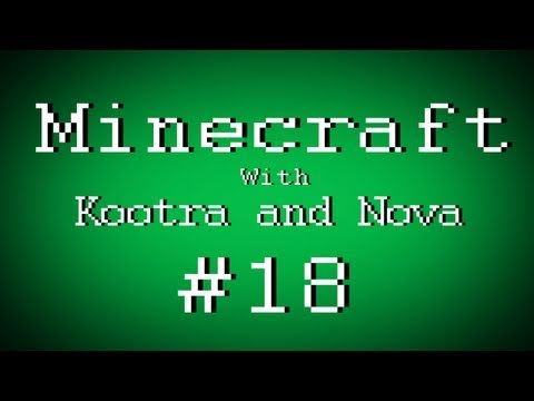 Fail Minecraft with Kootra and Nova: Making Sp00n a Cake Part 18 (Multiplayer/Survival)
