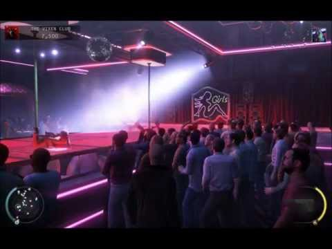 hitman absolution - strippers and big boobs - strip club