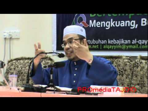 14-06-2011 dr asri zainul abidin, berbagai-bagai jenis hidayah