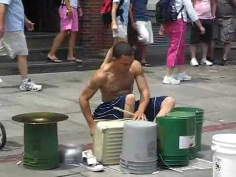 Amazing Street Drum Skills