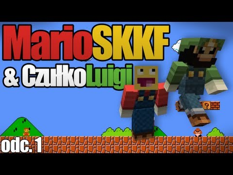 Minecraft Mario #1 - MarioSKKF i MasterLuigi
