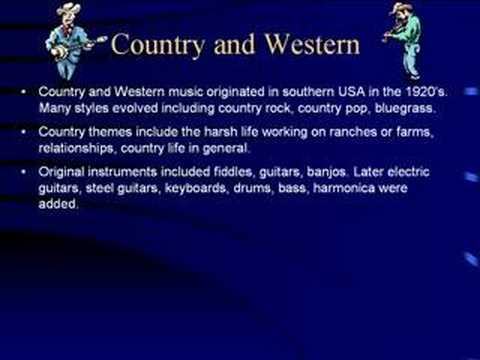 college essay on country music