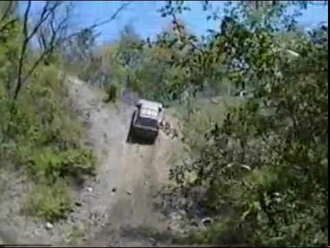 Suzuki Samurai offroad,  mud , trails, falls and so on.
