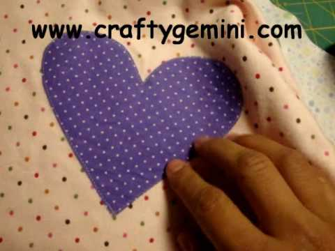 Fusible/Raw Edge Applique Tutorial
