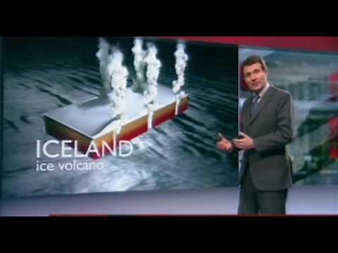 16th April 2010 - Iceland volcano ash cloud erruption update - UK Air travel cancelled