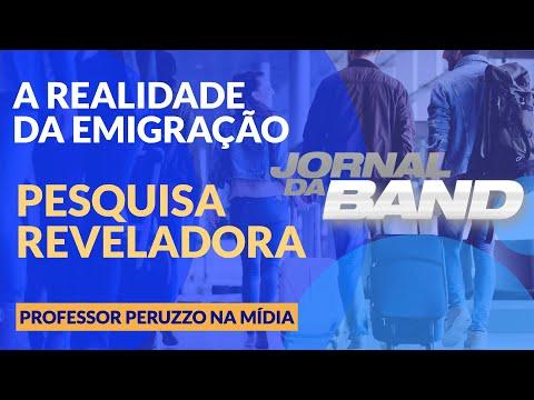 Jornal da Band - Professor Marcelo Peruzzo - Emigração