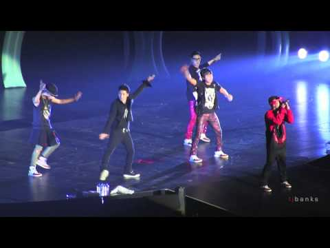 Big Bang - Monster [Alive Tour 2012 Singapore Indoor Stadium]