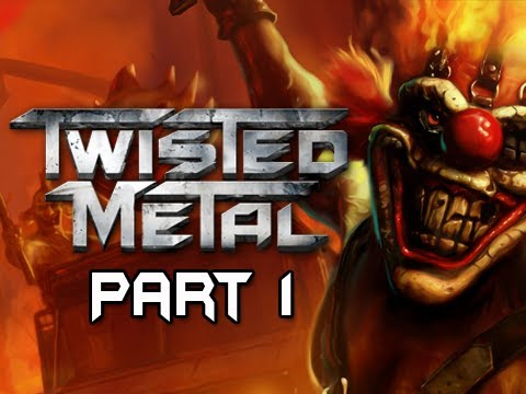 Twisted Metal Gameplay Walkthrough - Part 1 Opening and Deathmatch Let's Play