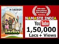 Namaste India Song 2019 (HD) by Trivision Films - Latest New Songs /Patriotic songs /Namaste song
