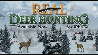 Real Deer Hunting & Iphone Gameplay Video