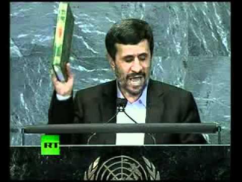 -9/11 was an inside job-: Full speech by Mahmoud Ahmadinejad at UN