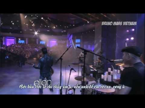 [BMVN][Vietsub] Bruno Mars – It Will Rain (Live on The Ellen DeGeneres Show)