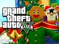 GTA 5 Funny Moments! - The Christmas Slaughter!! (GTA 5 Festive Skits!)