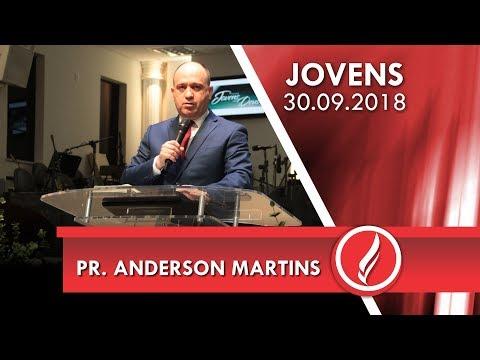 Culto de jovens - Pr. Anderson Martins - 30 09 2018