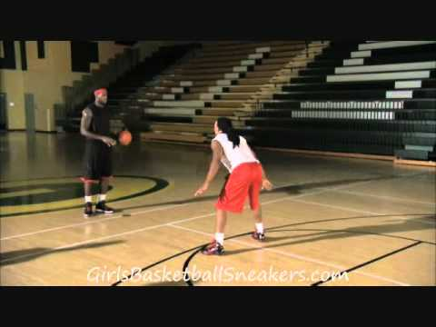 LeBron James Demonstrates between the Legs Hesitation Move