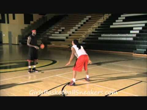 LeBron James Demonstrates between the Legs Hesitation Move