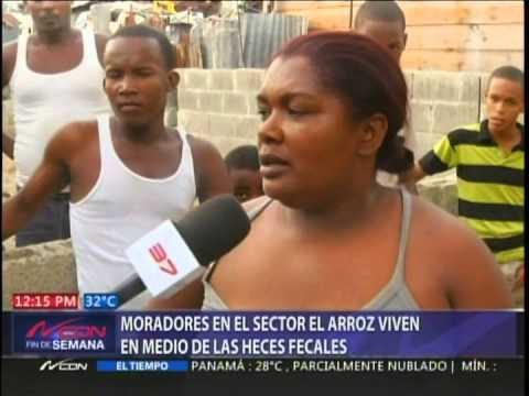 Heces fecales ahogan a residentes de la Ciénaga