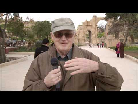 Gerhard Stein in Jerash
