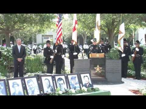 The Palm Beach County Sheriff's Office honored its own who have given their lives in the line of duty.