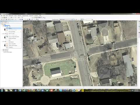 Georeferencing Historical Aerial Photography in ArcGIS 10.1